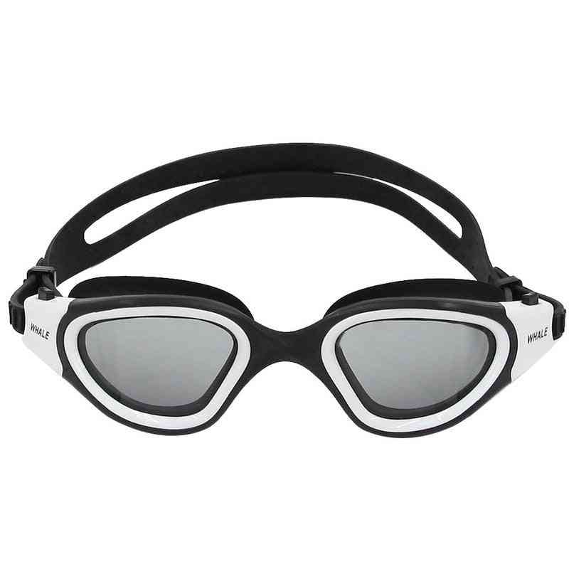 Professional Swimming Goggles, Waterproof Swim Adjustable Glasses