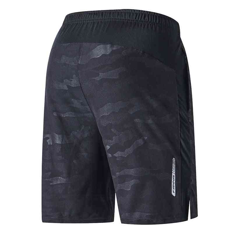 Quick Dry Fitness Gym Shorts With Pocket
