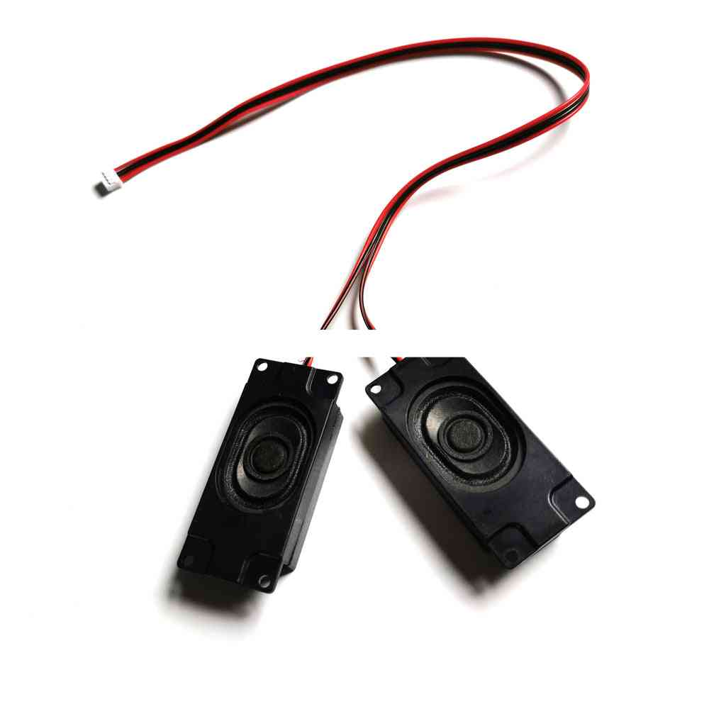8 Ohm/ 5 Watt- Small Horn Speaker, Amplifiers With 4-pin Connector Cable