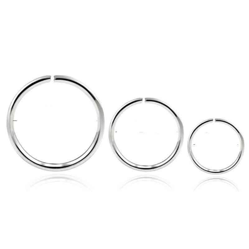 Cartilage Hoop Nose Ring, Lip Ring, Piercing Earring
