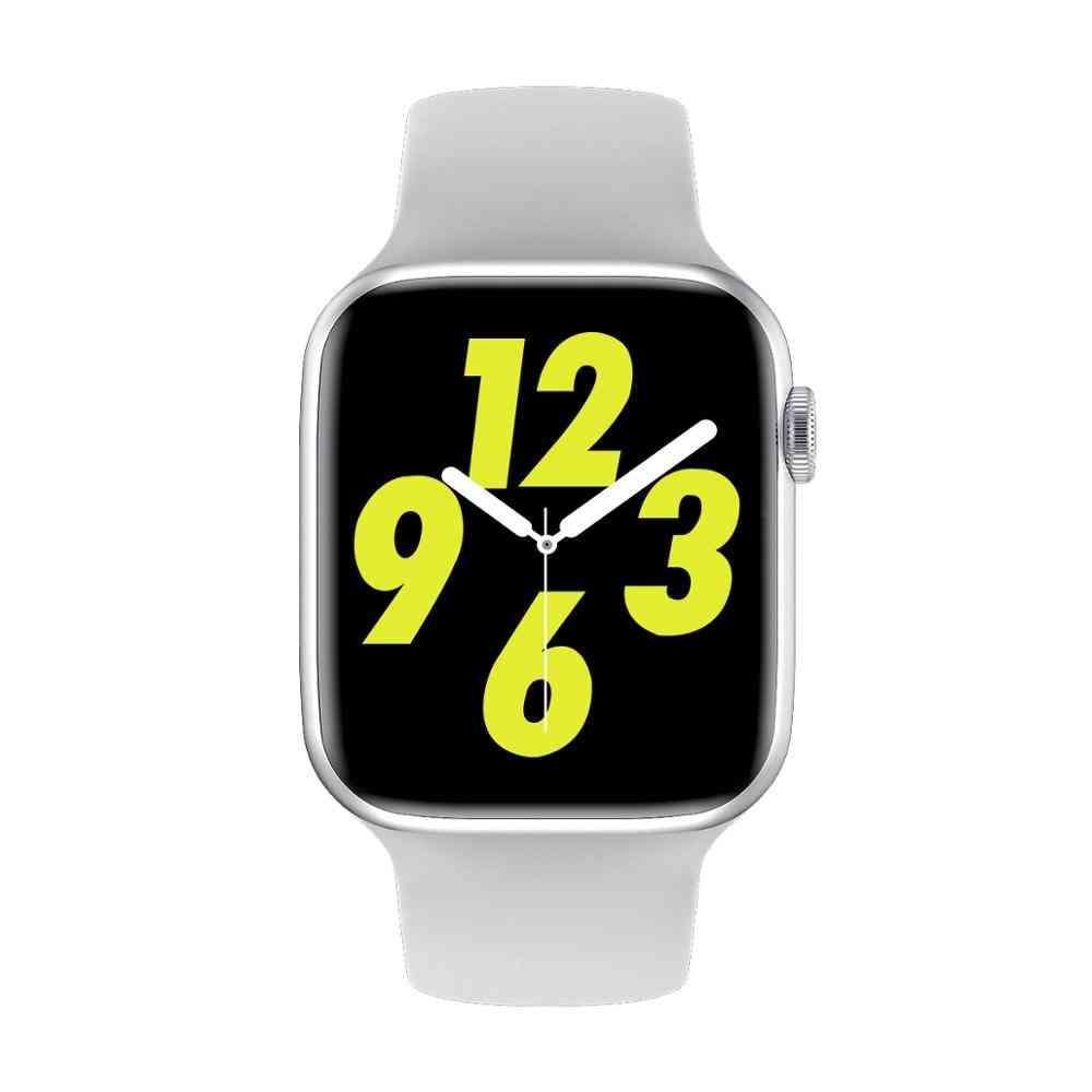 W16 Waterproof Ip68 Smartwatch Heart Rate Blood Pressure Ecg Monitor Full Touch Watch