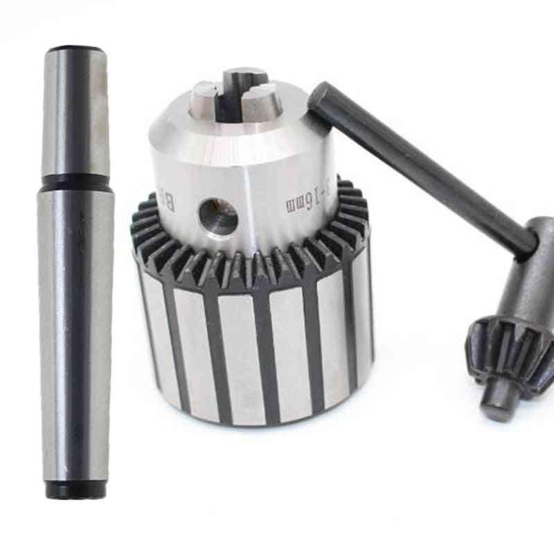 Precision Morse Cone Mt2 Mt3 Mt4 B10 B12 B16 B18 Light Duty Key Drill Chuck