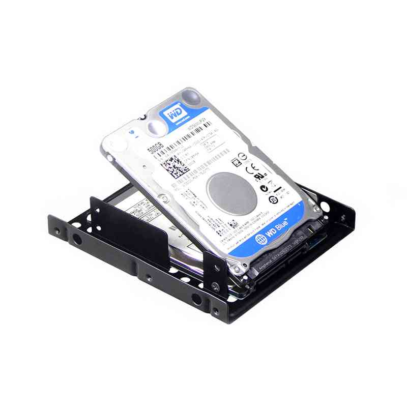 Ssd Hdd Notebook Hard Disk Drive Metal Mounting Bracket Adapter Tray Kit
