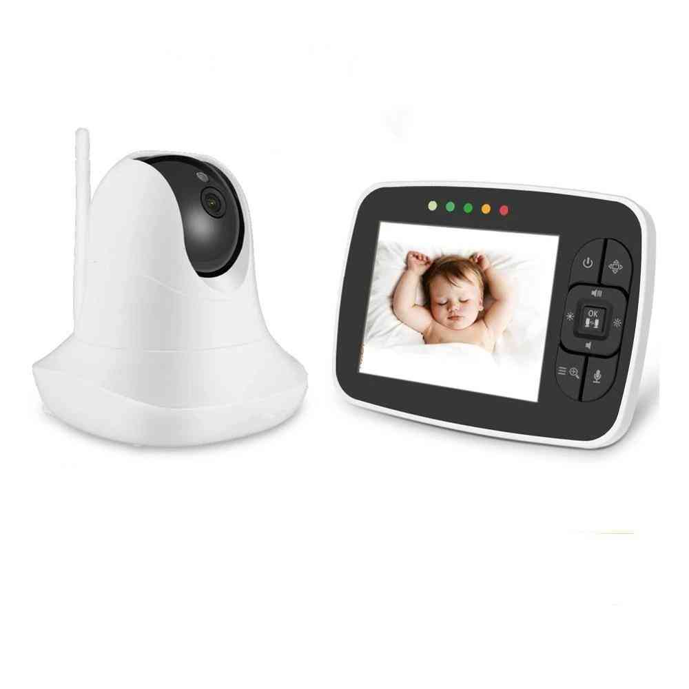 Night-vision Wireless Video Baby Monitor With Remote Camera Pan Tilt Zoom