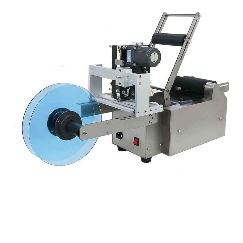 Automatic Round Bottle Labeling Machine & Date Code Printer