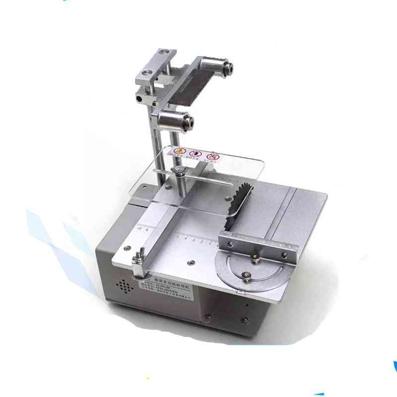 Multifunctional Small Table, Miniature Electric Saw, Desktop Precision Cutting Machine