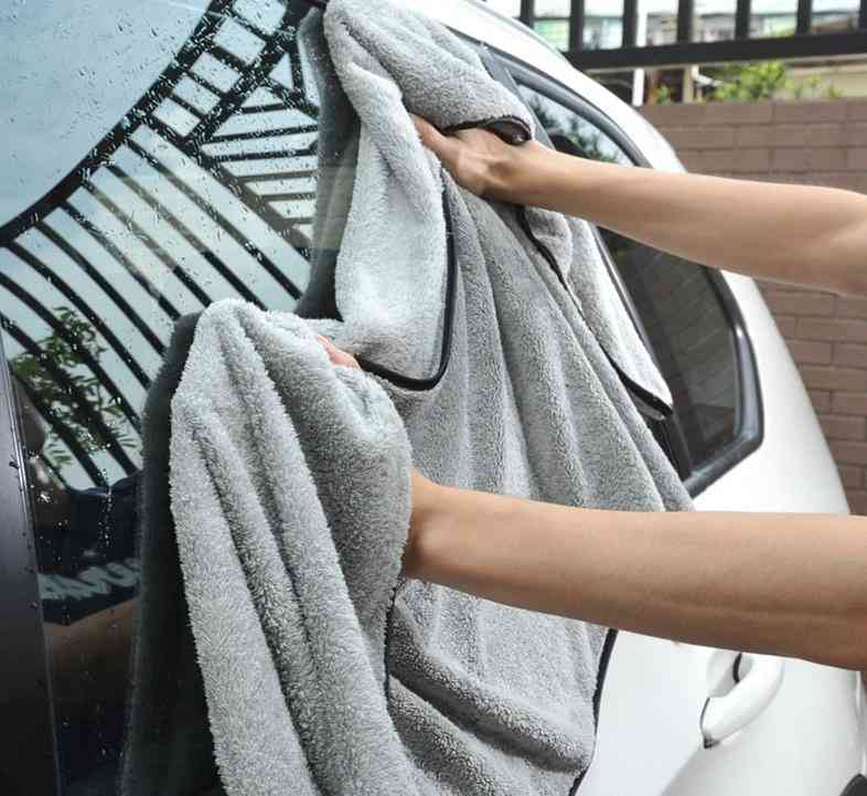Car Wash Towel, Microfiber Cleaning Drying Cloth