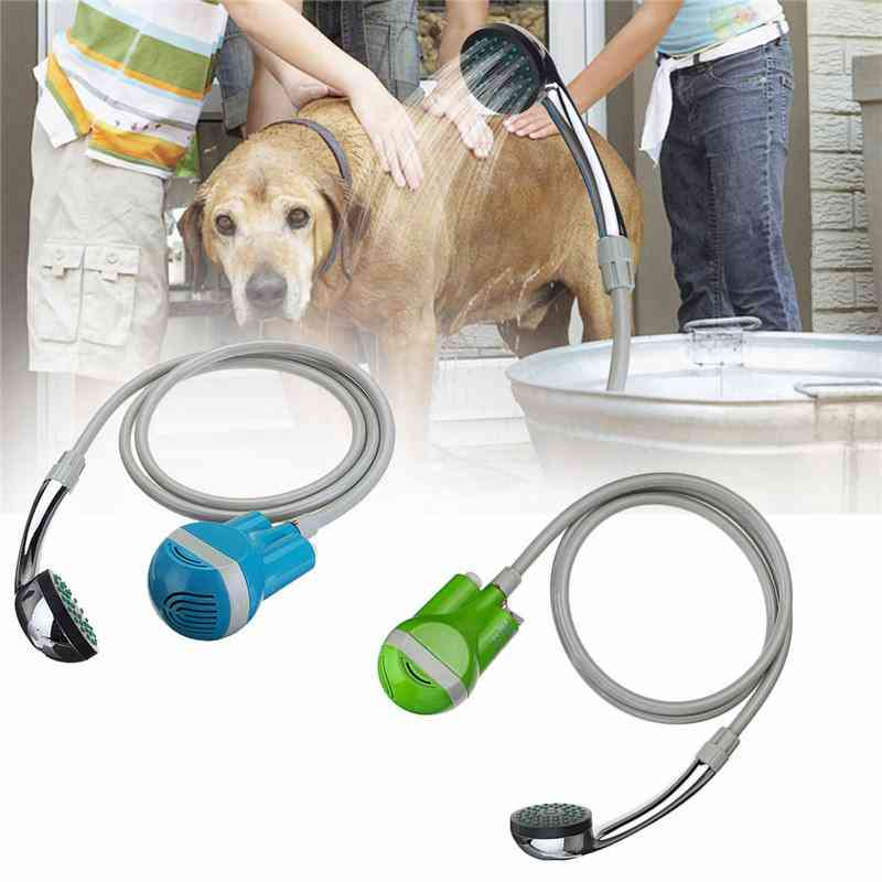 Portable Outdoor Usb Rechargeable Shower Head Water Pump