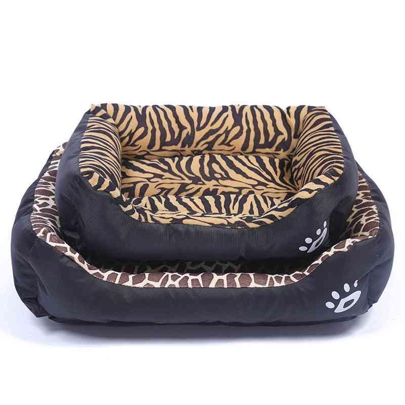 Pet Cat, Dog, Bed, Warm Cozy House, Soft Fleece Nest, Baskets Mat