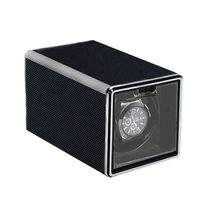 Automatic Luxury Watch Winder Box Accessories, Display Mechanical Rotating, Velvet Or Leather