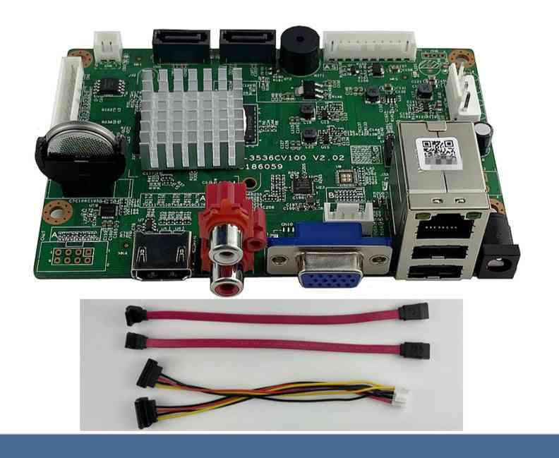 Network Digital Video Recorder 2 Sata Max 14t  2 Onvif Mtion Detection