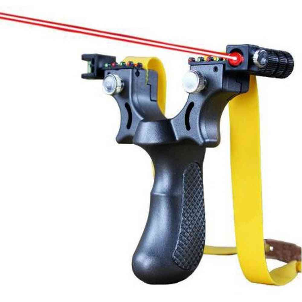 Professional High Precision Slingshot With Balls And Rubber