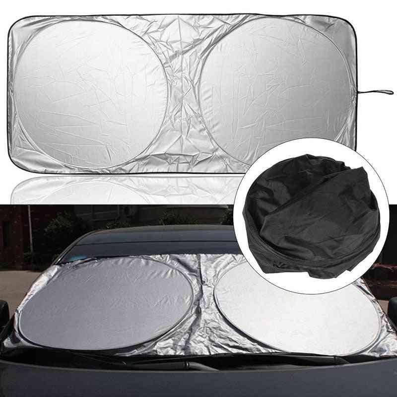 Car Front Sunshade, Sticker Accessories