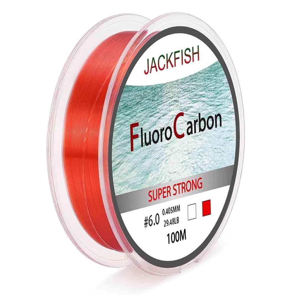 Fluorocarbon 4-32lb Carbon Fiber Leader Fly Fishing Line