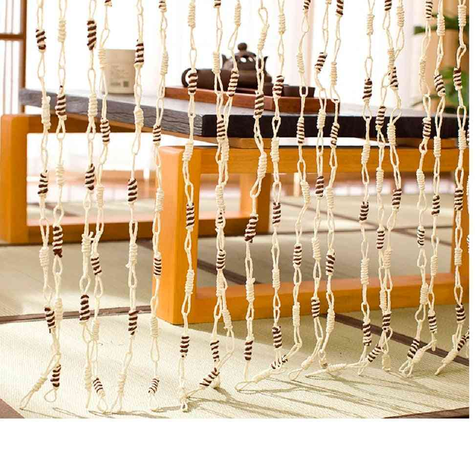 Straw Corn, Leaves Door Curtains, Braid Partition Reed, Hanging Room Divider
