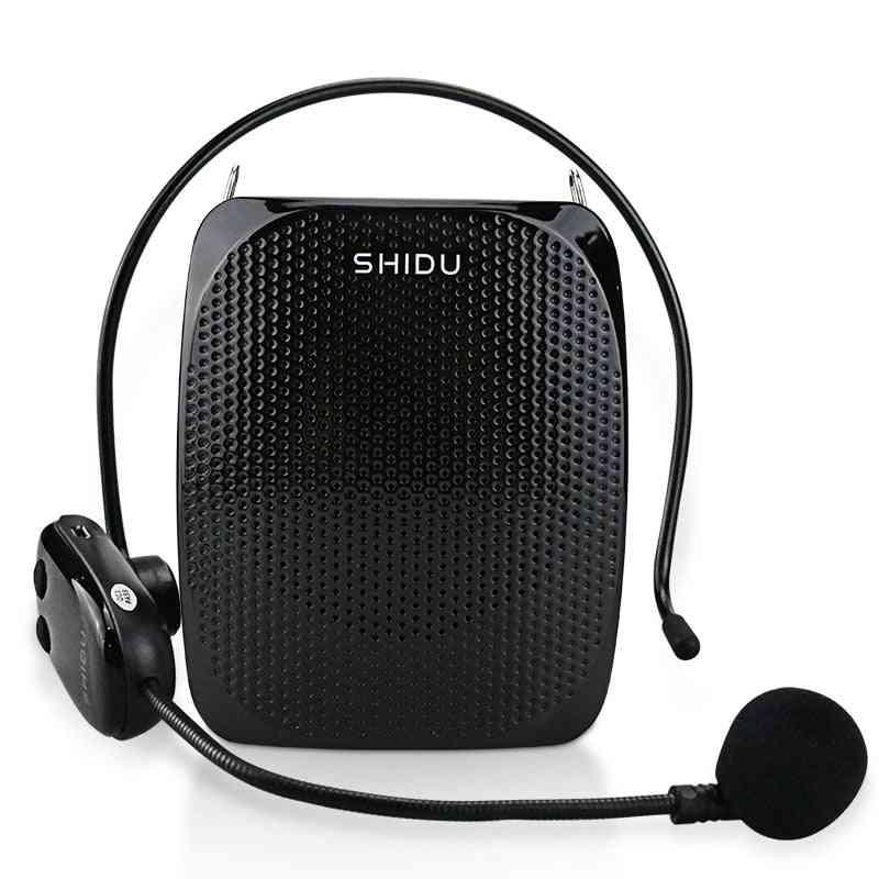 10w Voice Amplifier Uhf Wireless Microphone Ultra Portable Mini Audio Speaker For Teachers Instructors