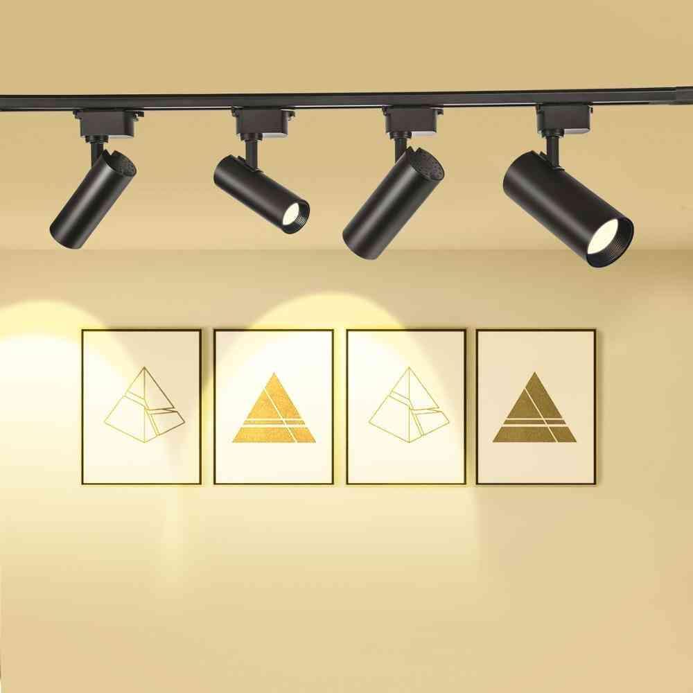 Led Track Light, Rail Spotlight Lamp For Home Window Display Lighting