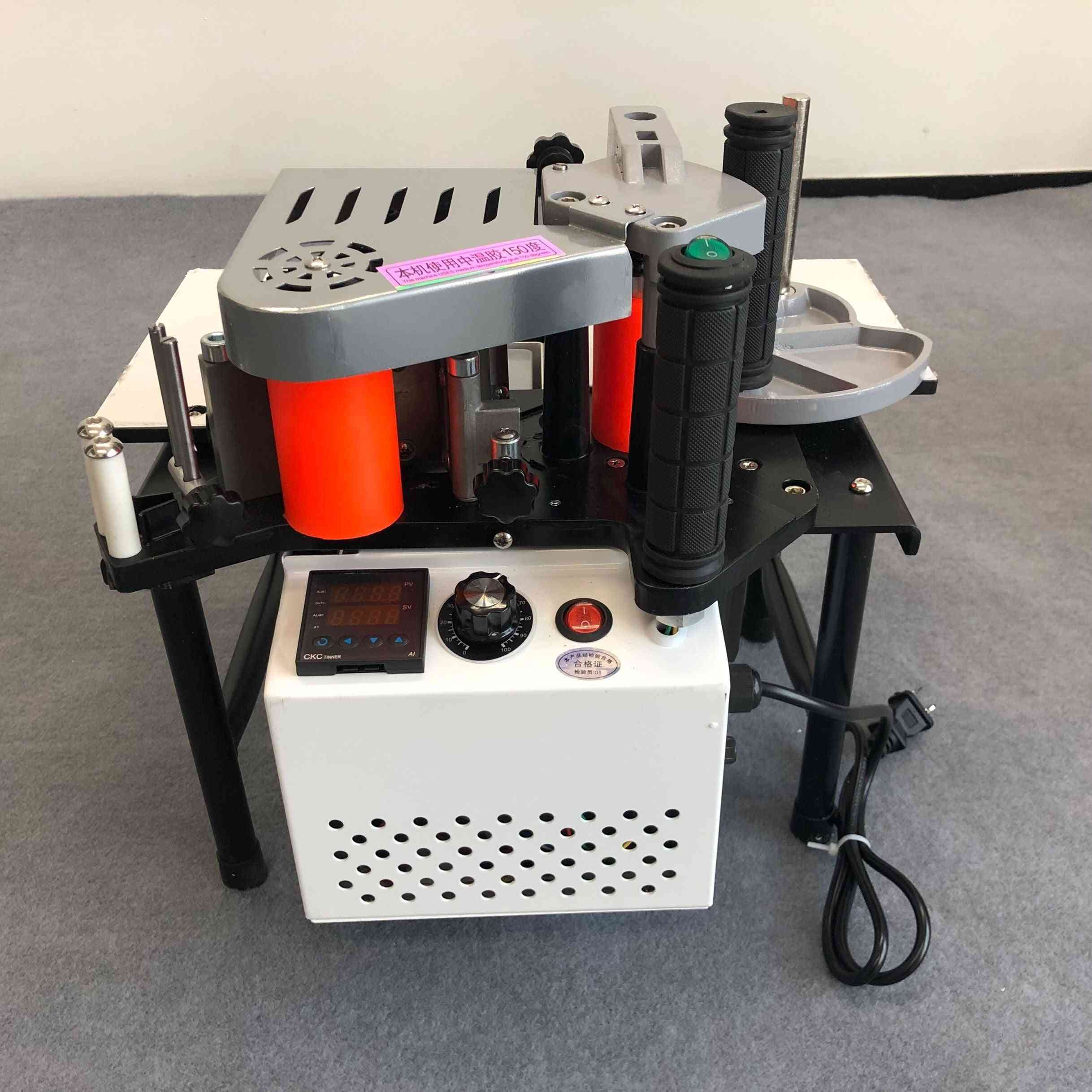 Portable Woodworking, Double-sided Adhesive, Edge Banding Machine