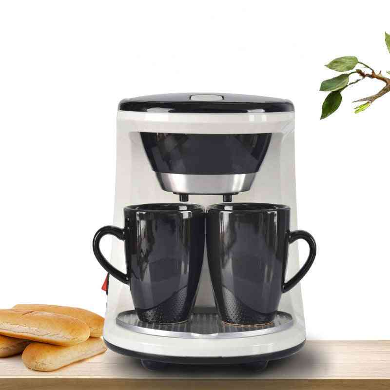 Electric Foam Coffee Maker Machine With Bean Grinder And Milk Frother