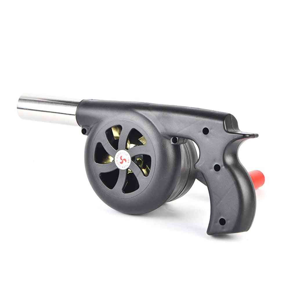 Large Outdoor Hand Cranked Combustion Blower