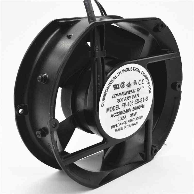 Axial Fp-108ex-s1-b 220v 38w Dual Bearing Cooling Fan
