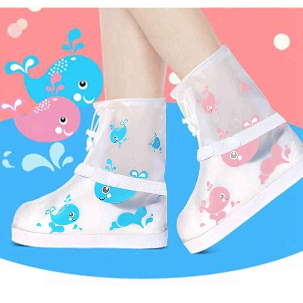 Kids Waterproof Rainboot Shoes Cover