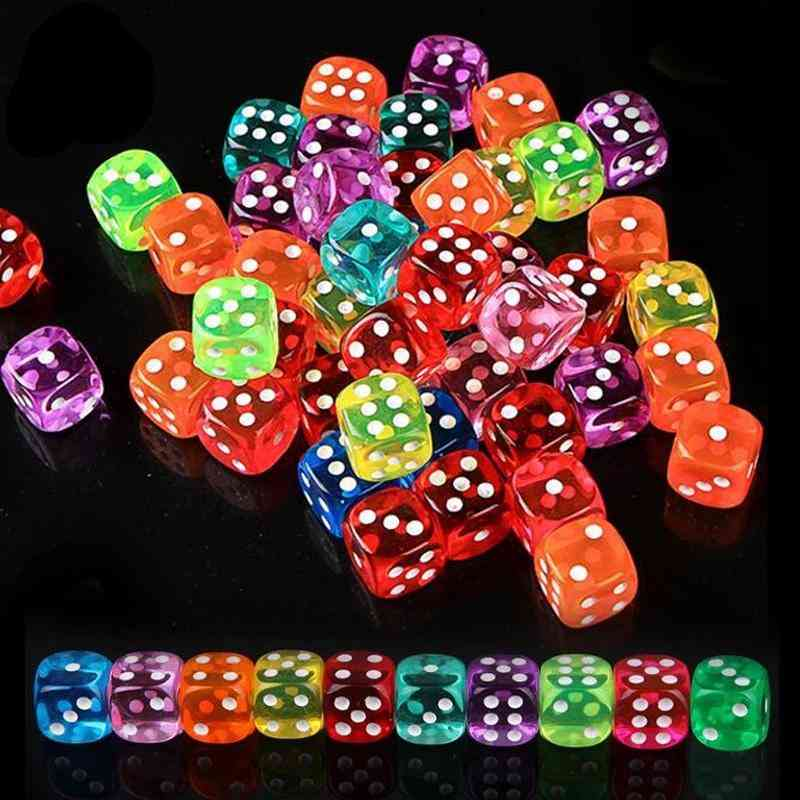 6 Sided Portable Table Games Dice