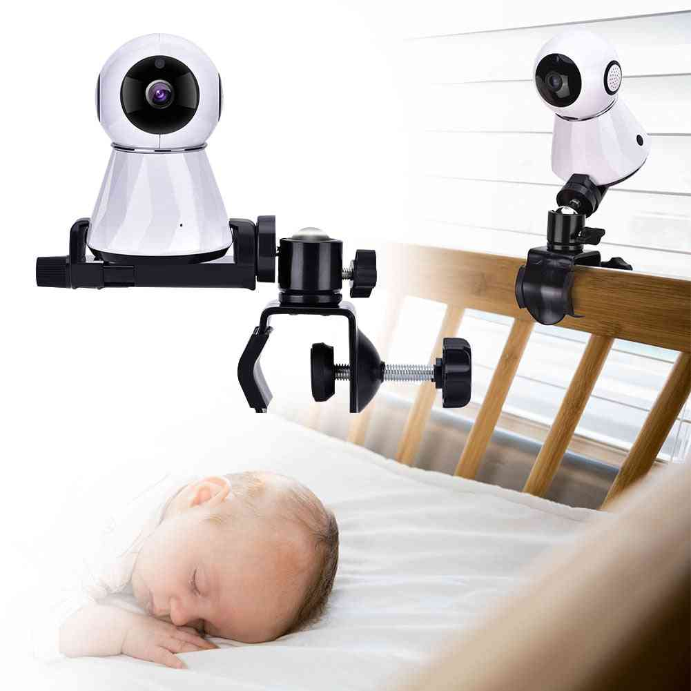 360-degree Camera Wall Mount Stand Cam Module Bracket Baby Monitor