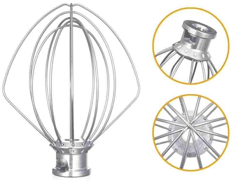 Stainless Steel Balloon Wire Whip Mixer Attachment