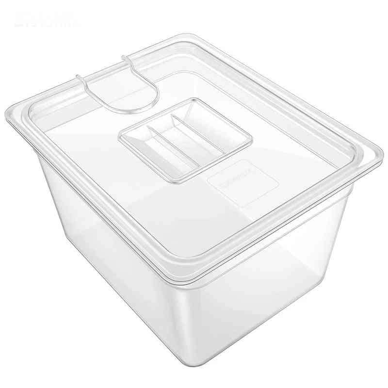 Sous Vide Container With Lid 11 Liter Water Tank