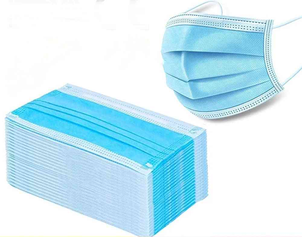 Disposable Face Mouth Three Layers Anti-dust Safe Breathable Mask