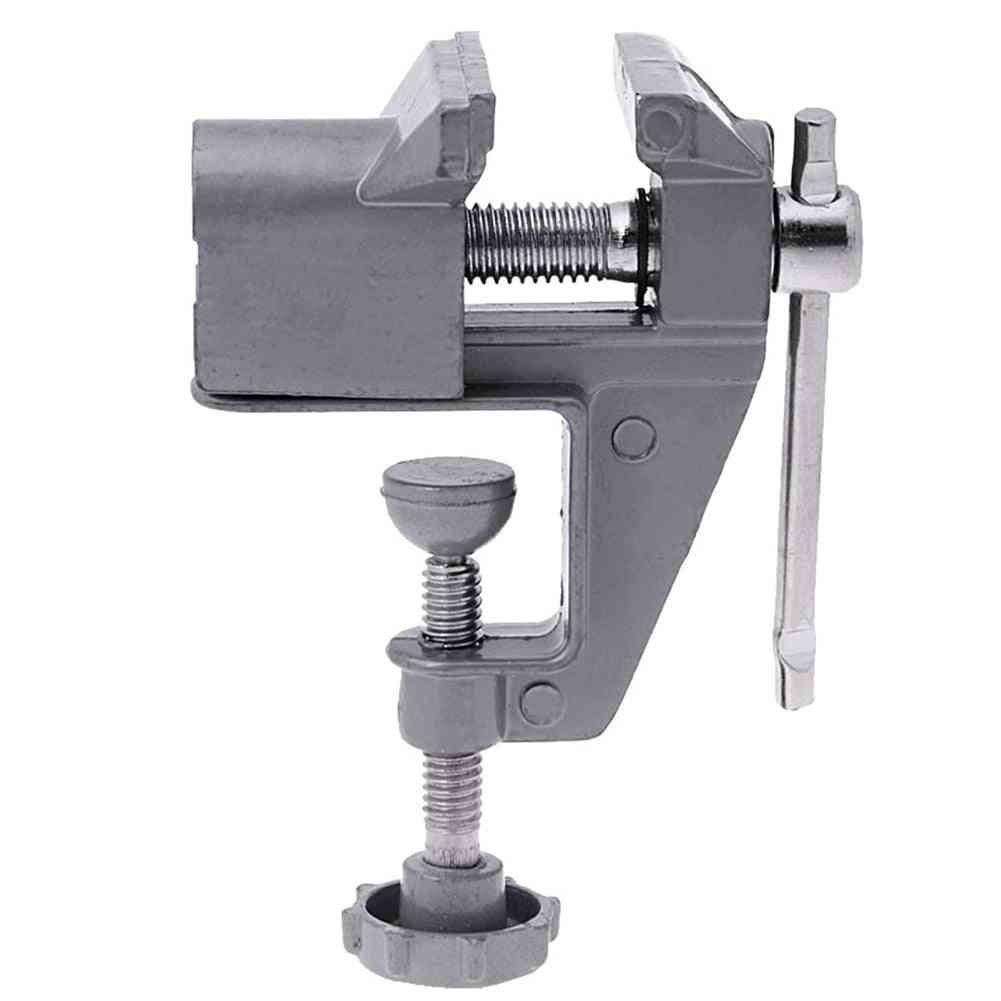 Mini Vice Table Vise Tool Clamp Fixed Building Screw