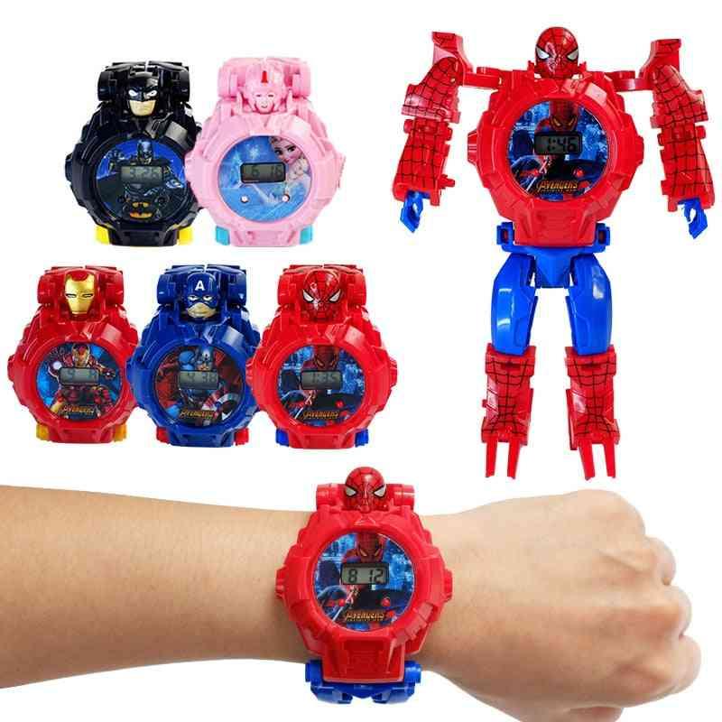 Children's Watch Action Figures Toy