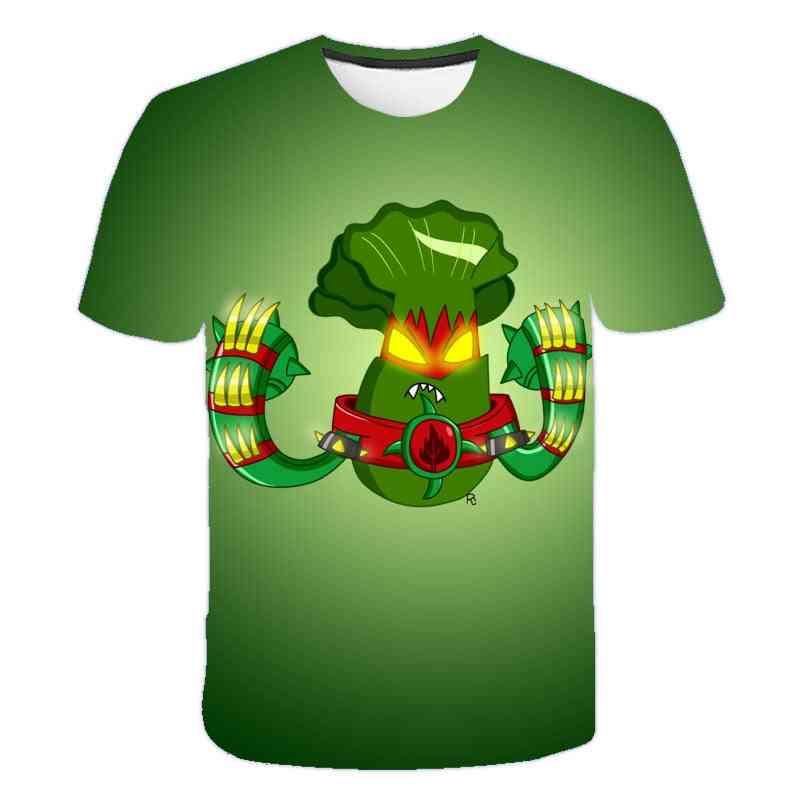 Cartoon T-shirt Casual Clothes