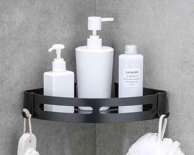 Aluminum Bathroom Shelf, Shower Shampoo & Soap Cosmetic Shelves Bath Accessories Rack Holder