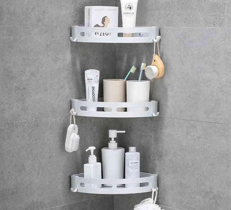 Aluminum Bathroom Shelf Shower, Shampoo, Soap, Cosmetic Shelves, Rack Holder