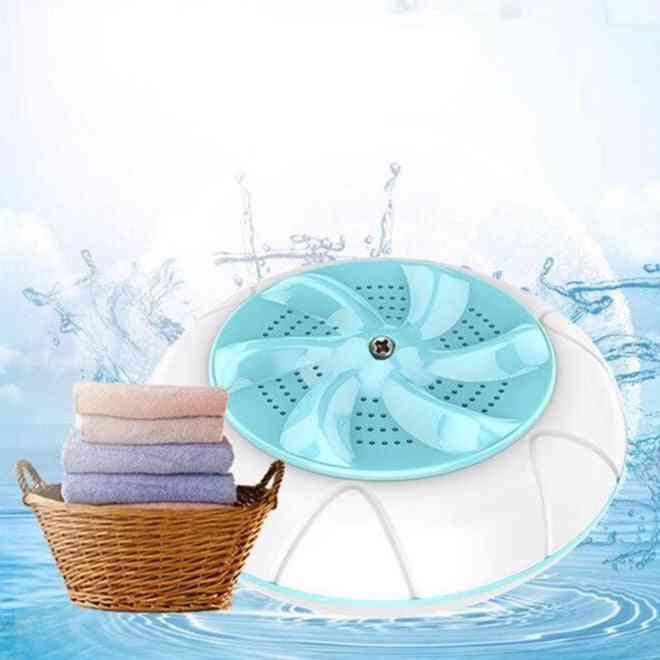 Mini Ultrasonic- Automatic Washing Prevent, Winding Wave Wheel, Laundry Machine