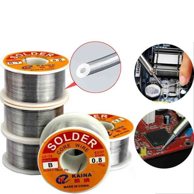 Lead Tin Wires, Melted Rosin Core Solder Wire