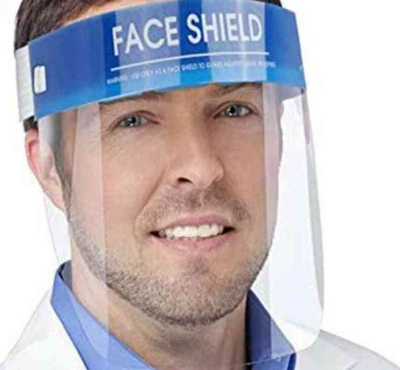 1pc- Professional Clear Protection, Transparent Protective Safety, Full-face Shield