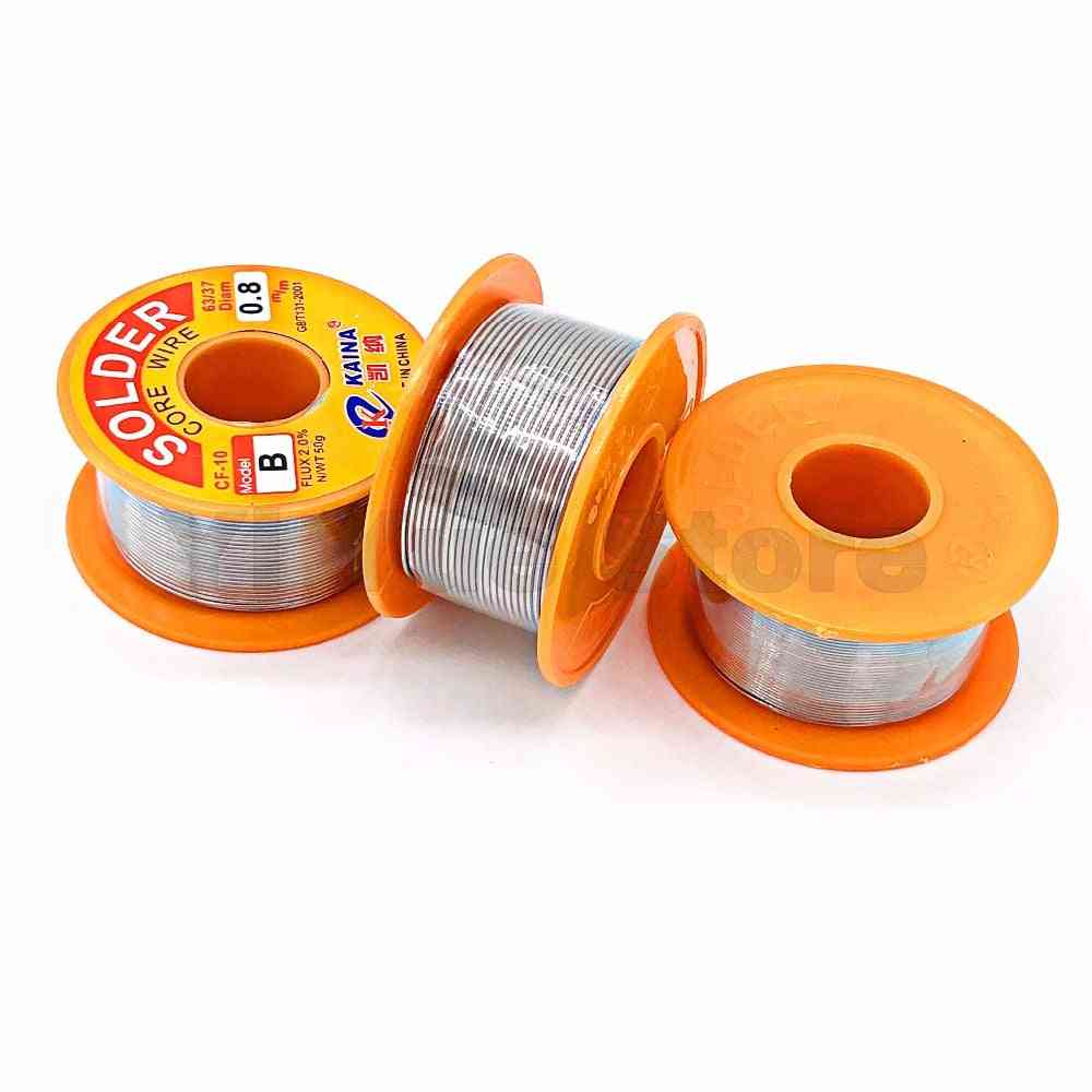 Lead Tin Wires, Melt Rosin Core Solder Soldering Wire Roll