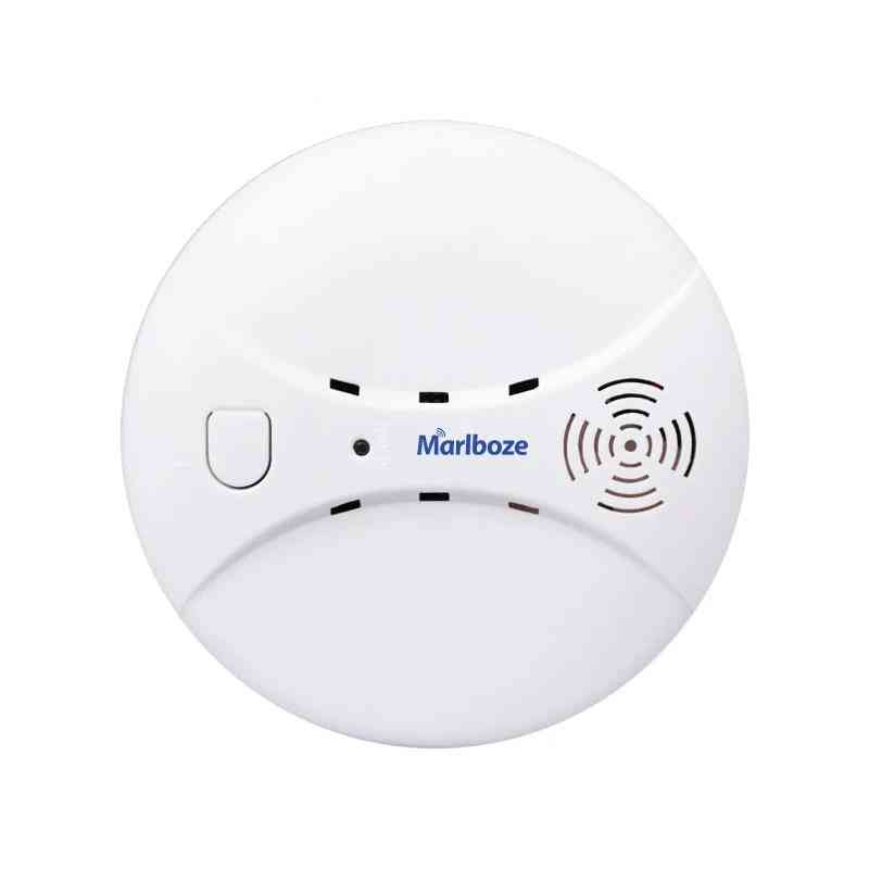 Wireless Wifi/ Gsm, Alarm System, Smoke Detector, Photoelectric Fire Sensor For Home Security