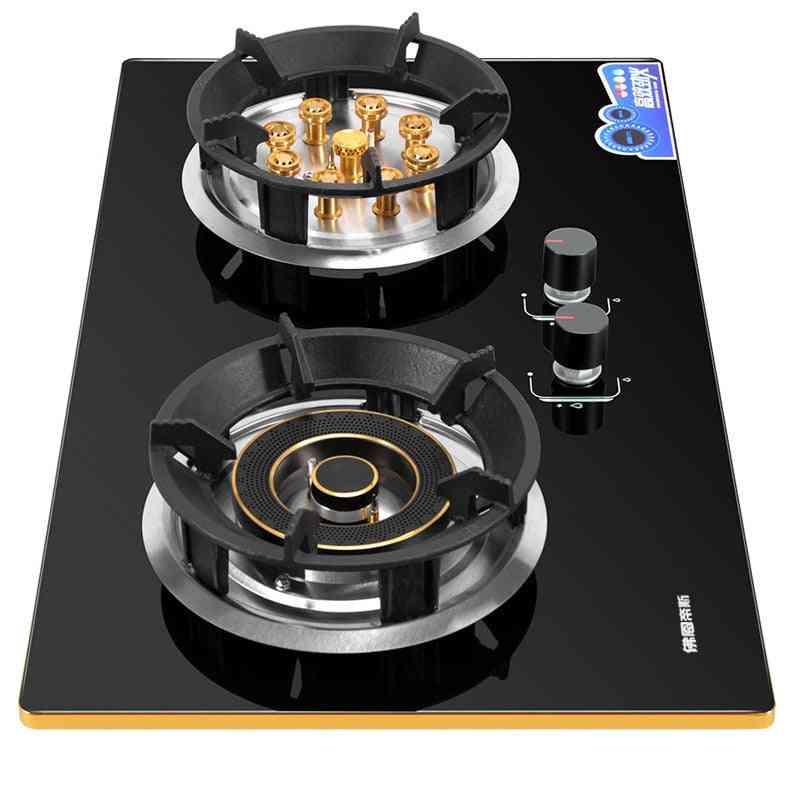 Double-fire Embedded And Commercial 2-pots Hobs, Stove For Home