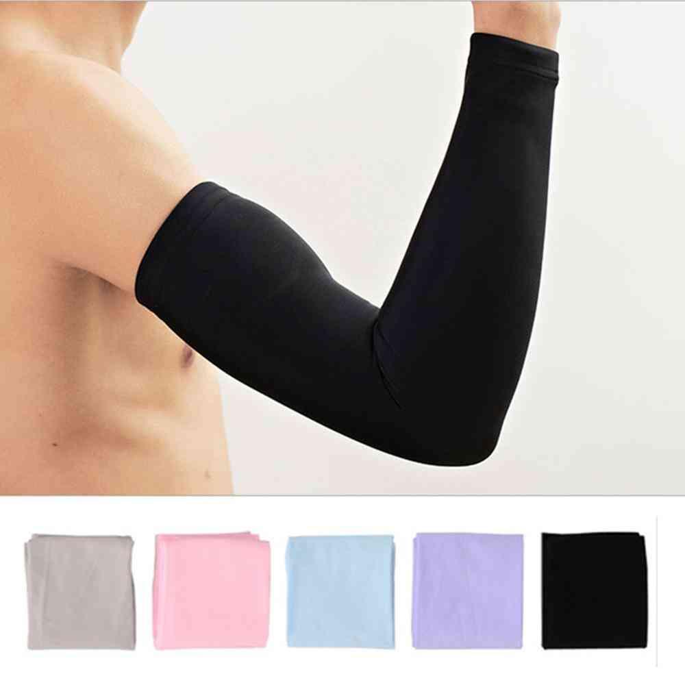 Men Women Cycling Arm Sleeve Cuff, Anti-sweat Arm Warmers