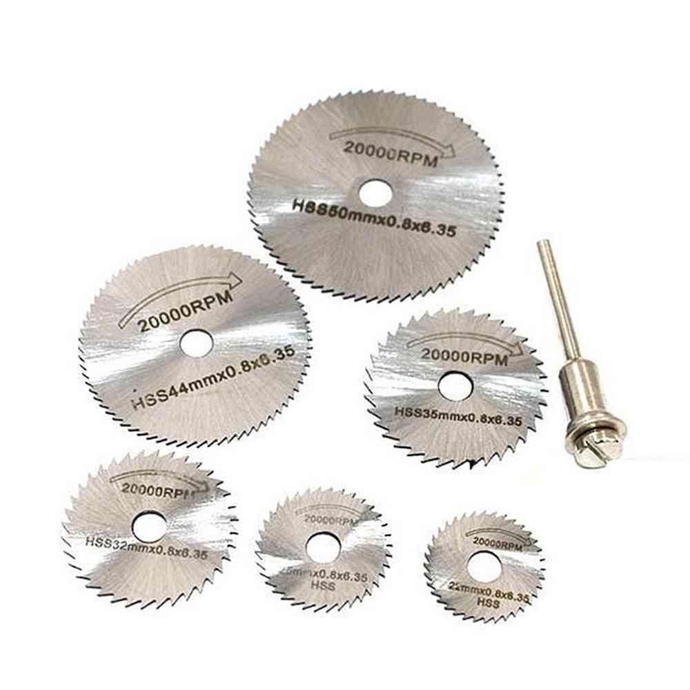 Metal Circular, Saw Disc Wheel Blades, Cut-off Drill, Rotary Tool
