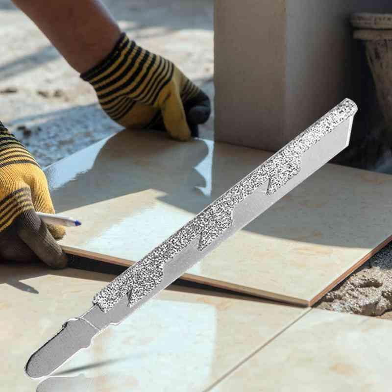 T-shank Alloy Diamond, Jigsaw Blade For Marble Stone