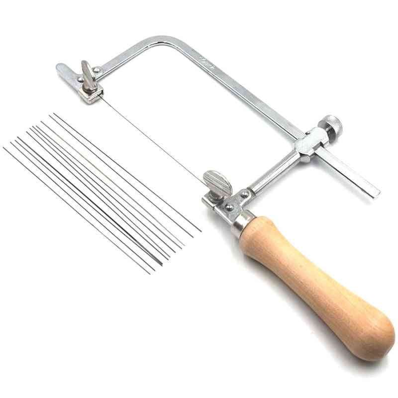Professional Saw Bow, Wooden Handle, Jewelry Saw Frame