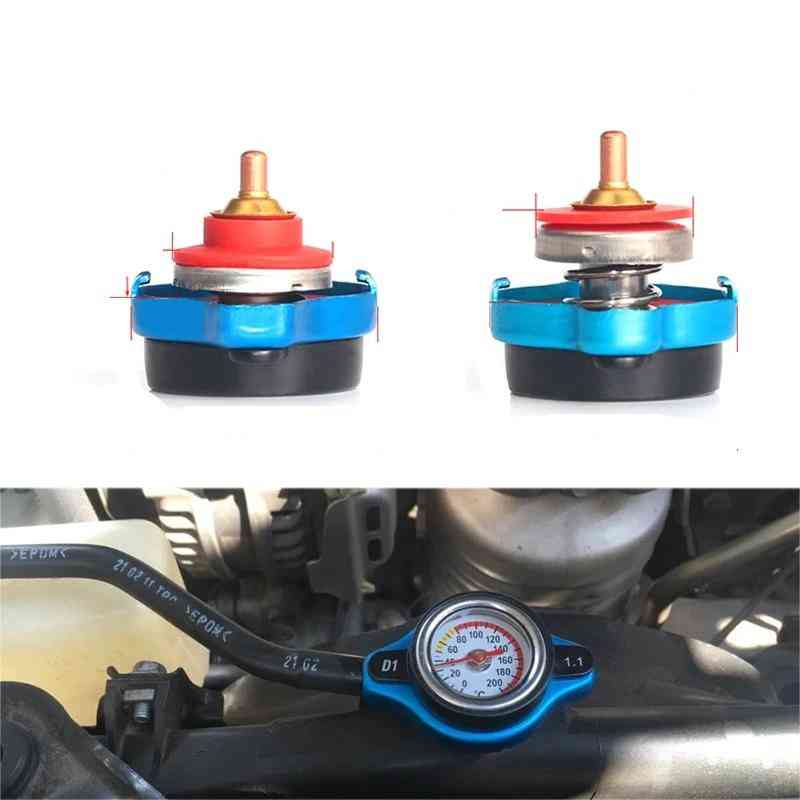 Car Motorcycle-thermo Radiator, Cap Tank Cover, Water Temperature Gauge