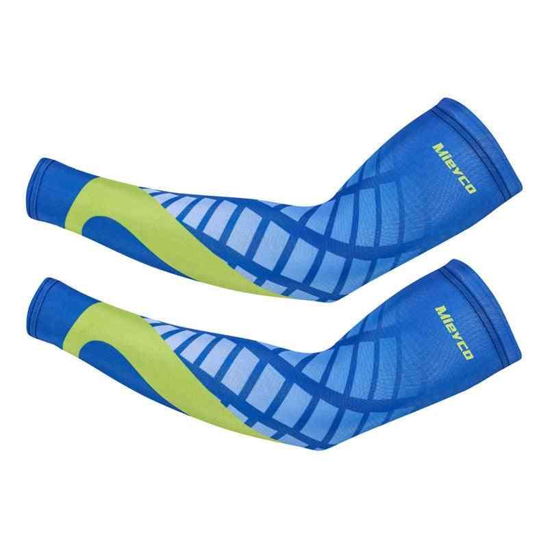 Arm Warmer Sun Uv Protection Sports Running Bike Men Arm-sleeves Cover
