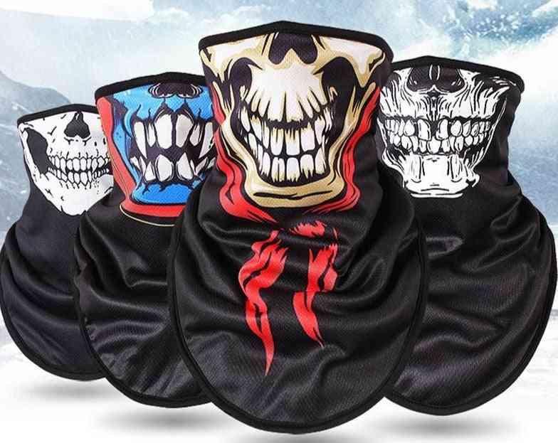 Winter Fleece Ski Scarf Mask