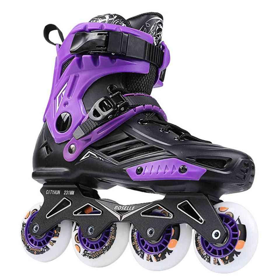 Professional Roller Skate Shoes, Sliding Free Skate Sneakers